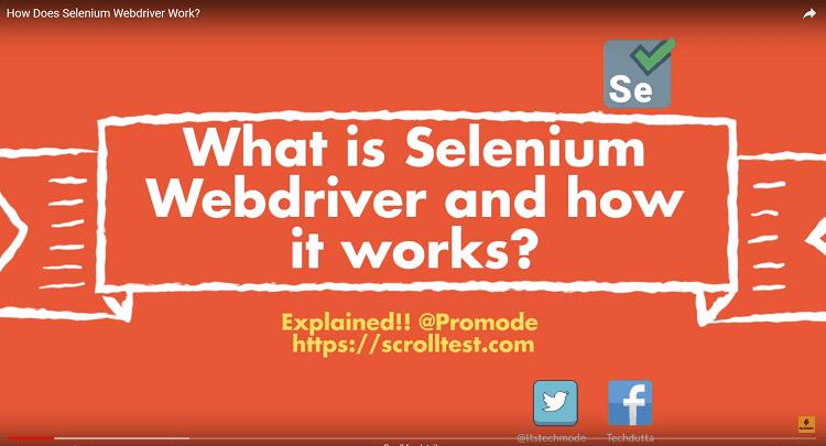 selenium webdriver architecture diagram