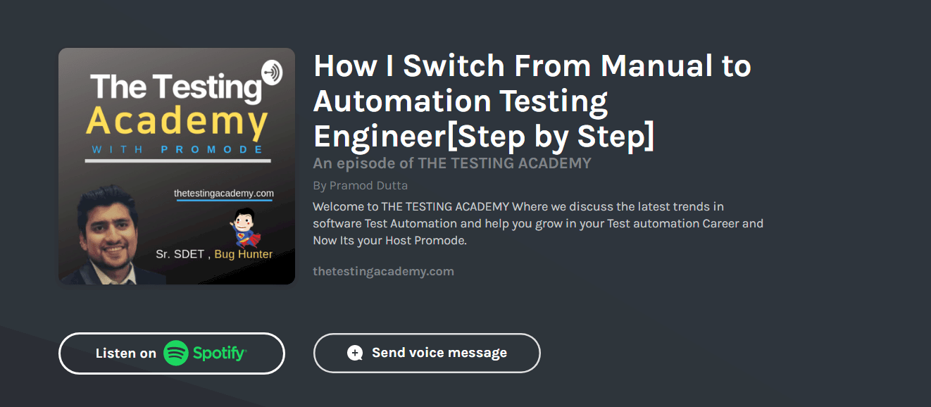 How to Switch from manual to Automation Testing