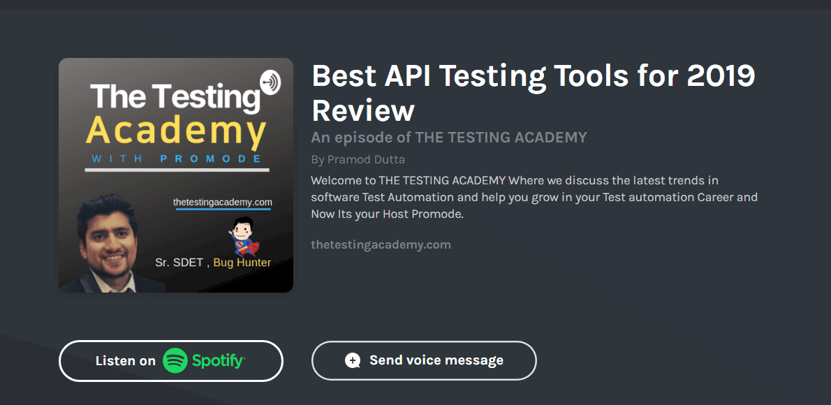 best api testing tools 2019 review