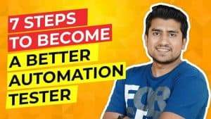 how to become good automation tester