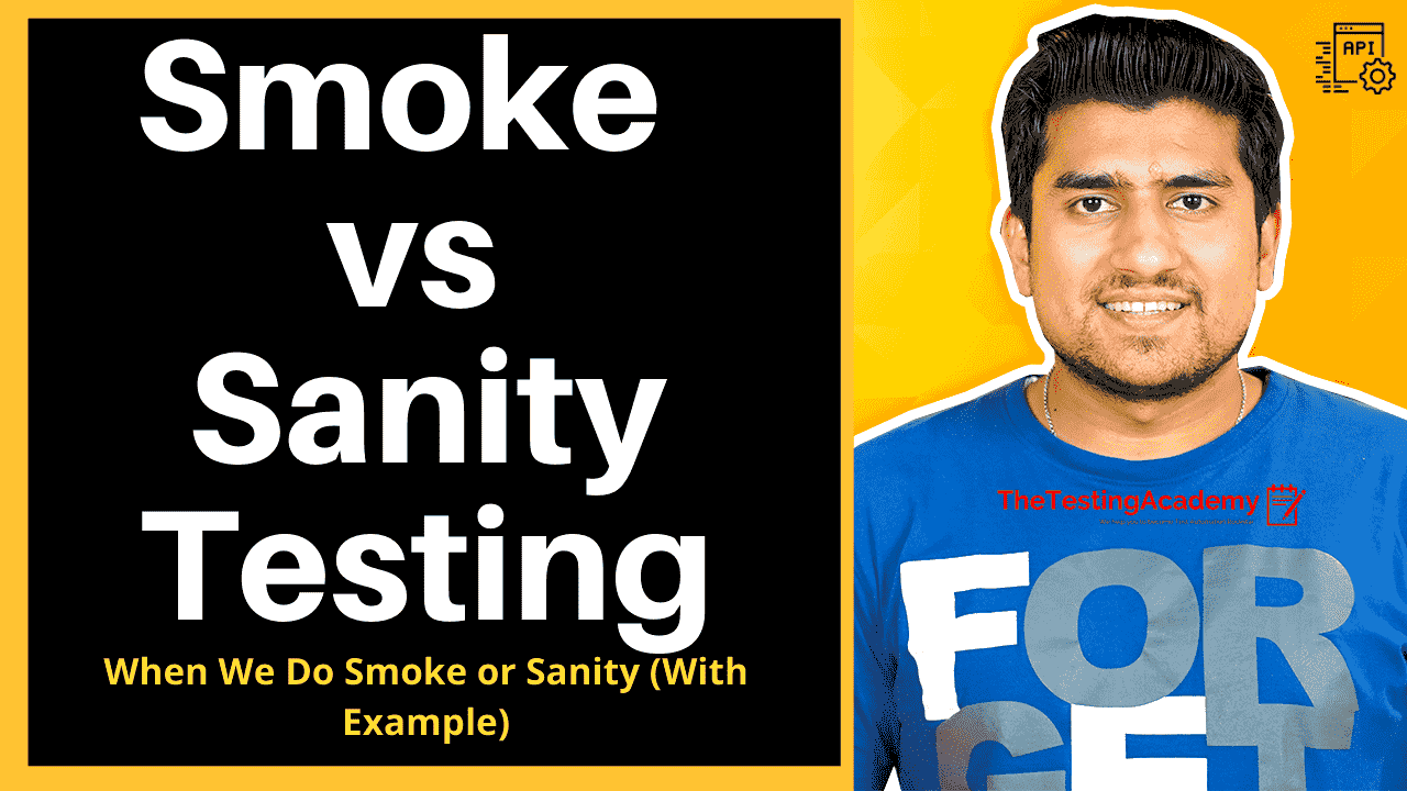 smoke testing vs sanity testing