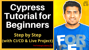 cypress tutorial for beginners with live project