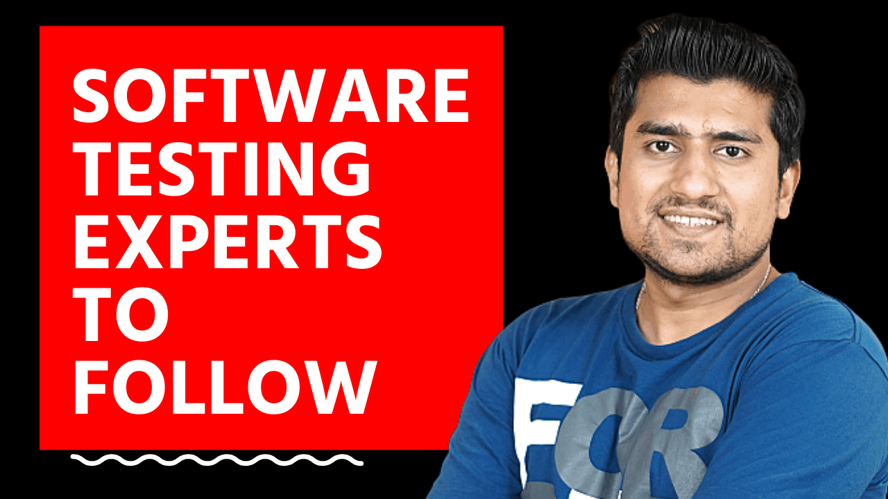 Software testing experts to follow