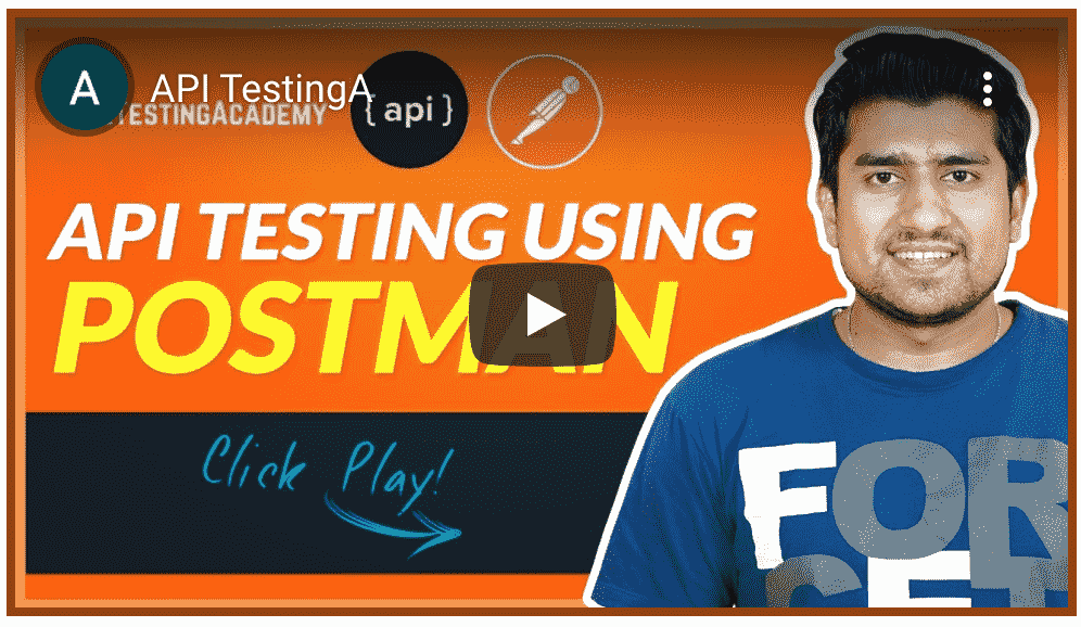 api testing using postman course