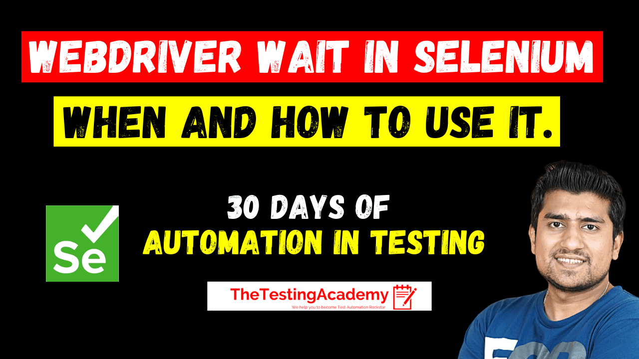 How to Use webdriver wait in selenium