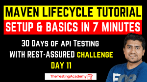 maven lifecycle tutoria with Setup & basics in 7 minutes