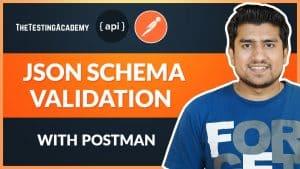 JSON Schema Validation- How to Validate JSON Schema with Postman?