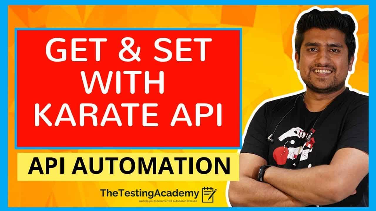 GET and SET keywords in KARATE API