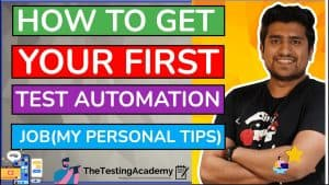 How to Get Your First Test Automation Job