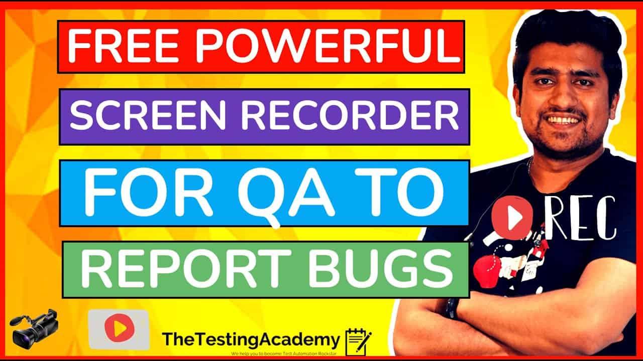 free screen recorder for qa