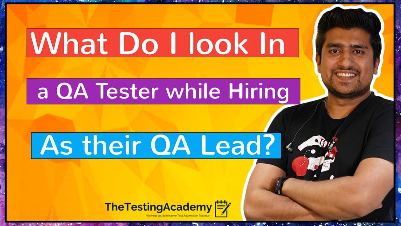 QA Tester