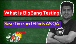 What is big bang Testing