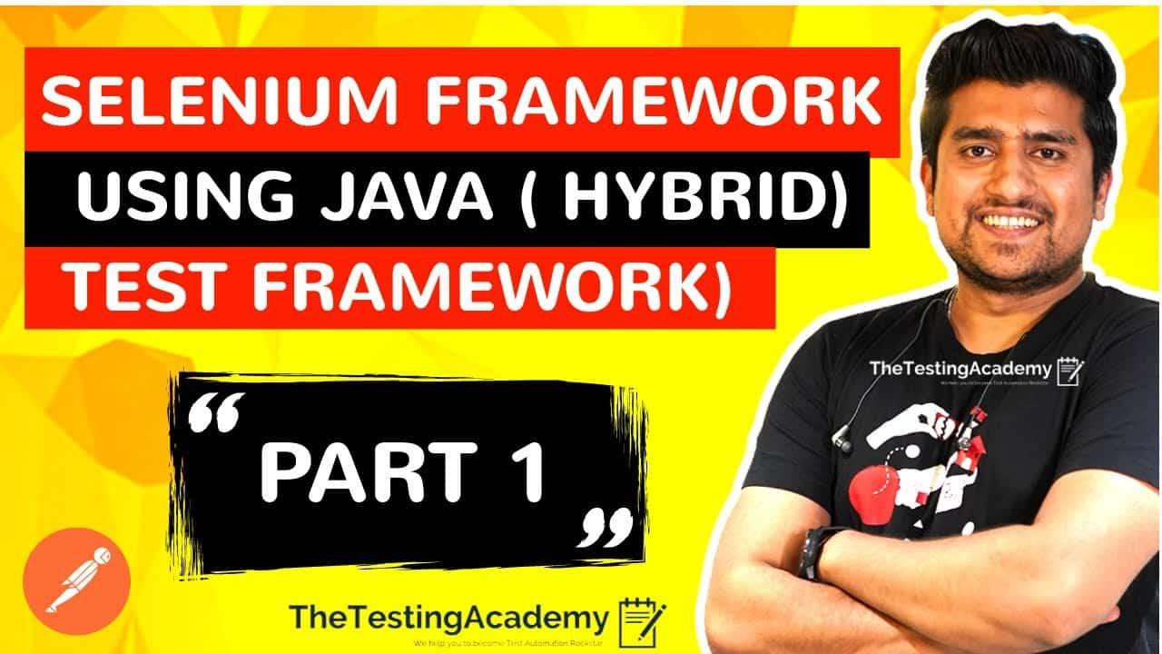 Selenium Framework with Java