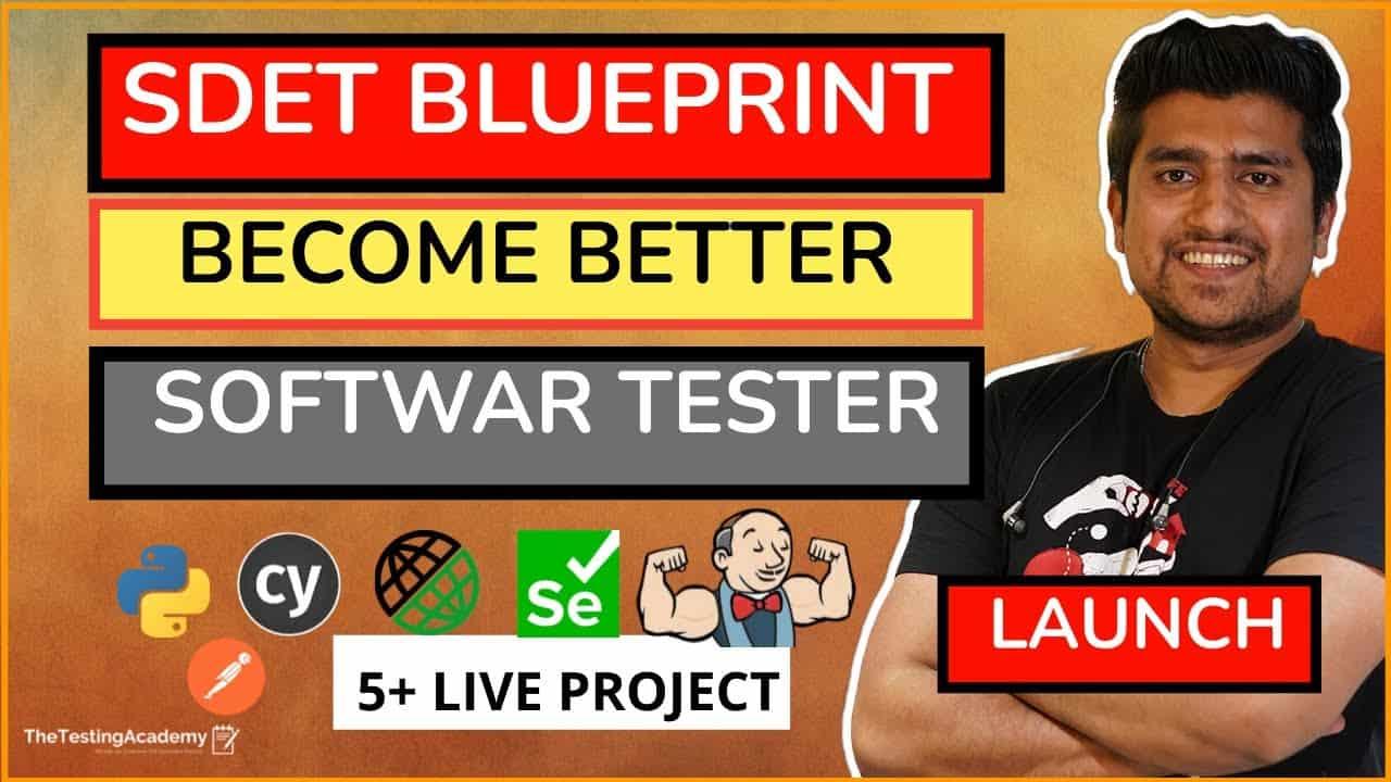 sdet blueprint