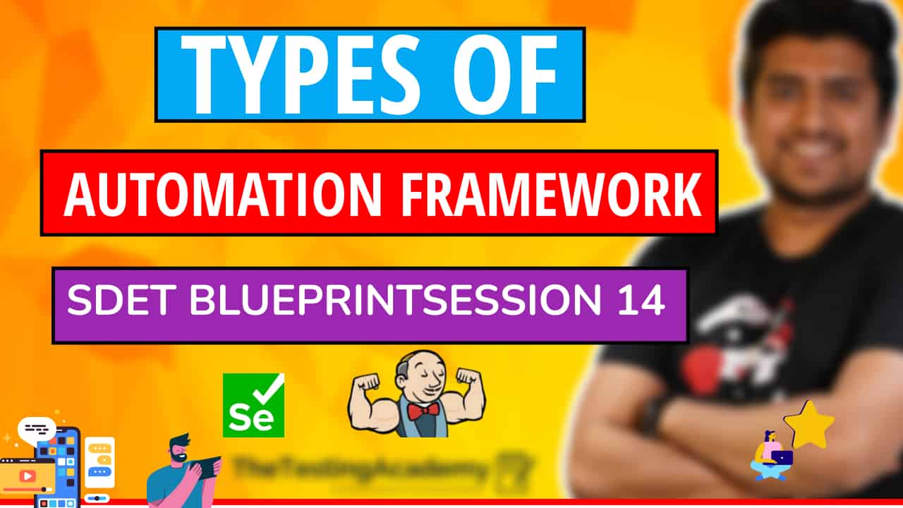 types of automation framework in Selenium
