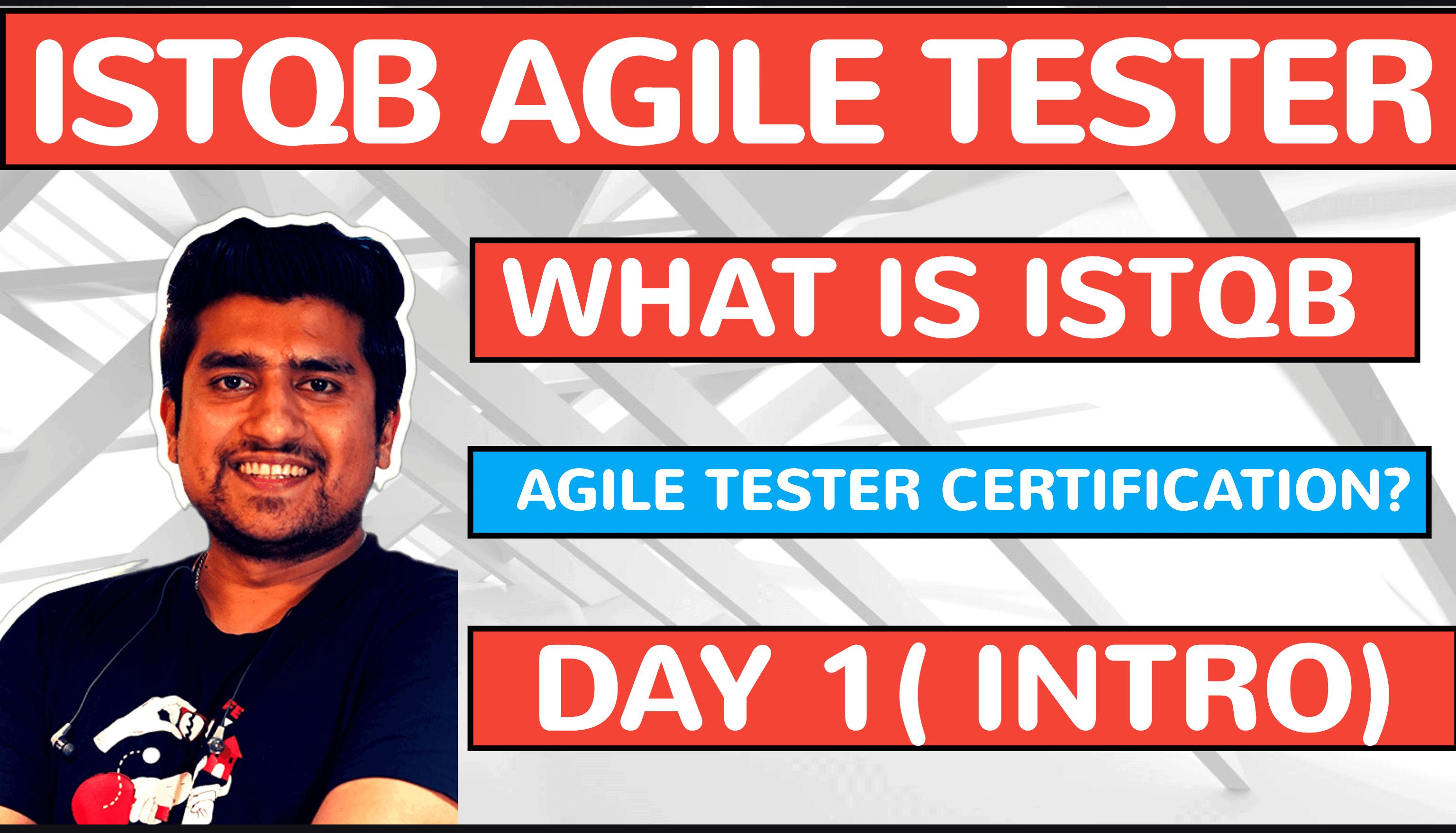 Istqb Agile Tester Certification
